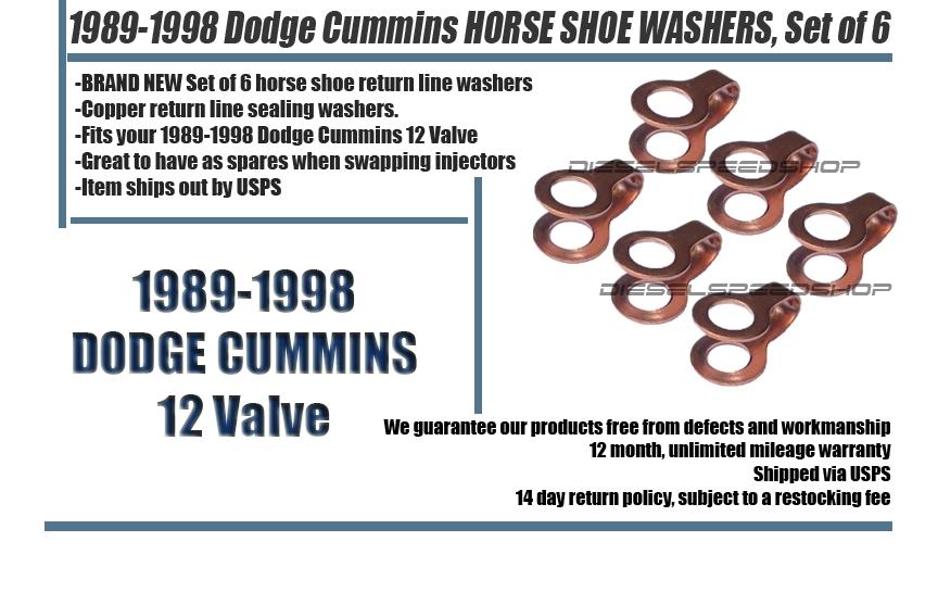 1991.5-1998 FITS INTERCOOLED Dodge Cummins® 12v Injector installation kit MEDIUM